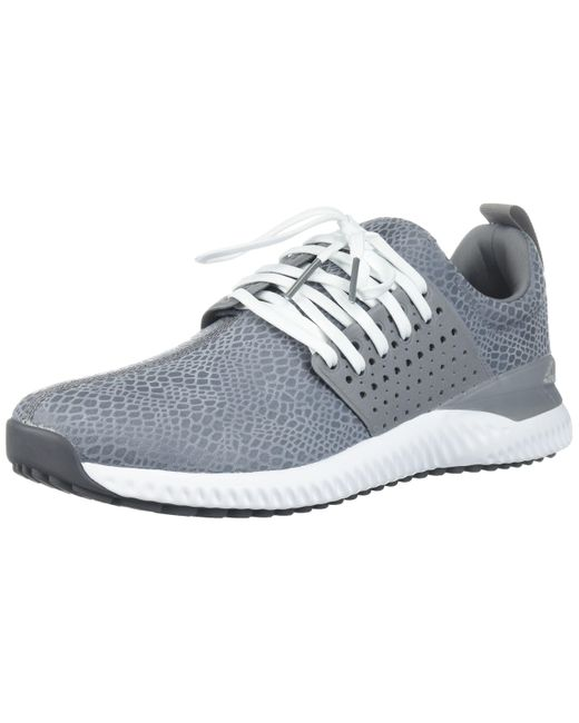 Adidas Rubber Adicross Bounce Golf Shoe In Grey White Gray For Men Save 59 Lyst