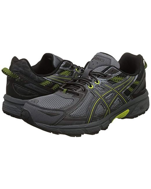 new product 86e05 40125 ... Asics - Black S Gel-venture 6 Running Shoe for Men - Lyst ...