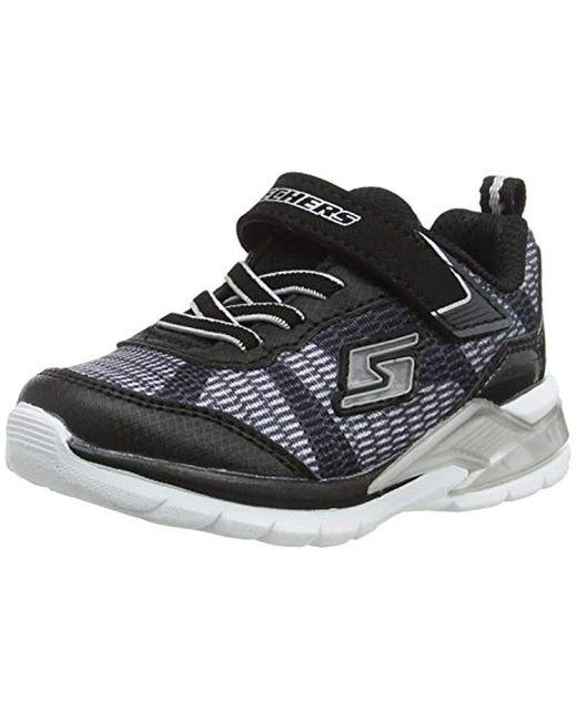 Erupters II-Lava Waves, Zapatillas para Bebés Skechers de hombre de color Black