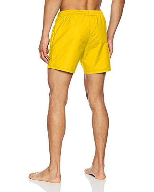 3e705cc7c2 ... Lacoste - Yellow Swim Shorts for Men - Lyst