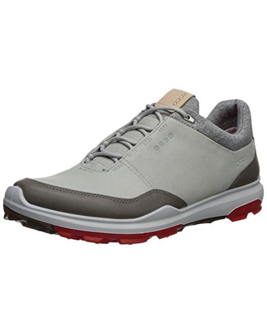 Ecco - White Biom Hybrid 3 Gore-tex Golf Shoe for Men - Lyst