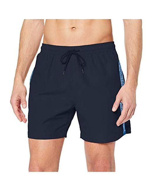 Medium Drawstring Short de Bain Homme Calvin Klein pour homme en coloris Blue