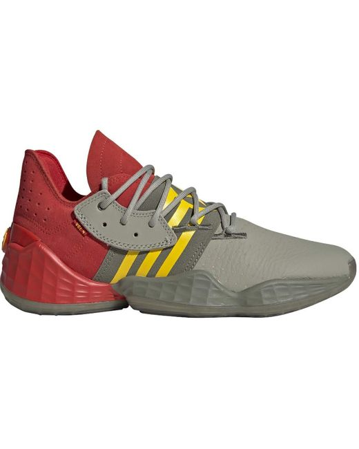Basketball Red/Feather Grey/Legacy Adidas pour homme en coloris Gray
