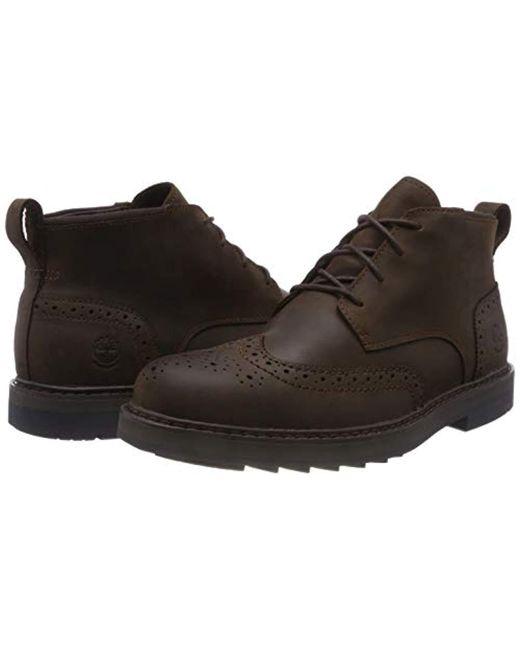 654ac83de6a Men's Brown Squall Canyon Chukka Boots