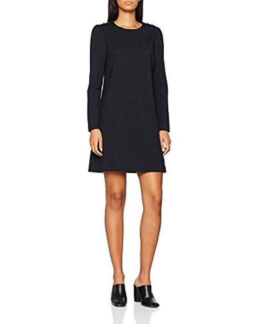 8ee24db2a286f Lyst - Hatia Dress LS, Robe Femme Tommy Hilfiger en coloris Noir