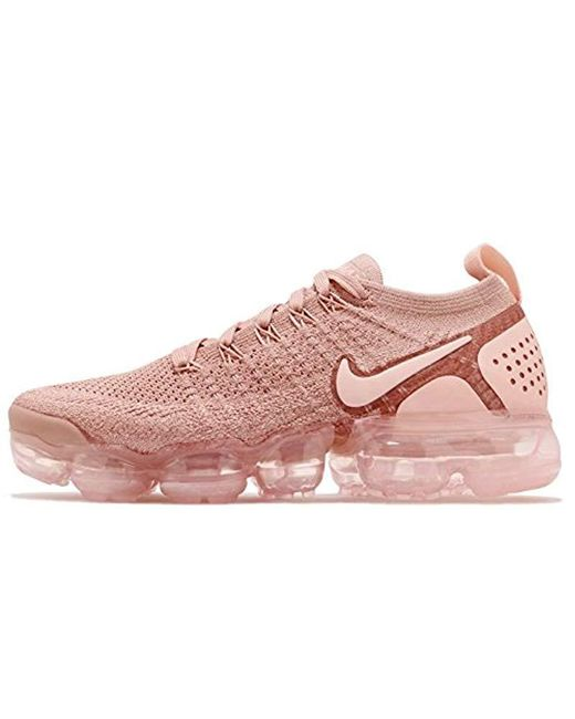 free shipping 7f373 e934c Women's Pink W Air Vapormax Flyknit 2 Fitness Shoes
