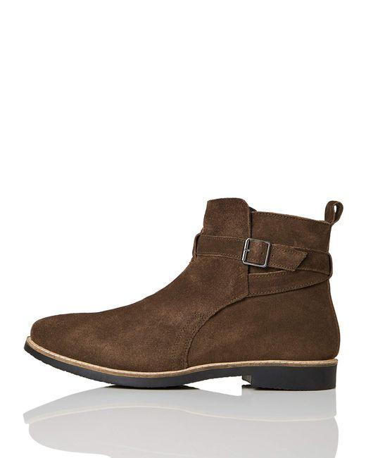 FIND Ethan Jodhpur Chelsea Boots in Brown für Herren