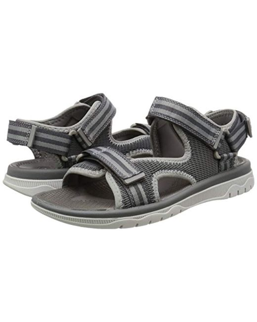 Sandals Men Gray For Balta Lyst Clarks In Sky rxQCsdht