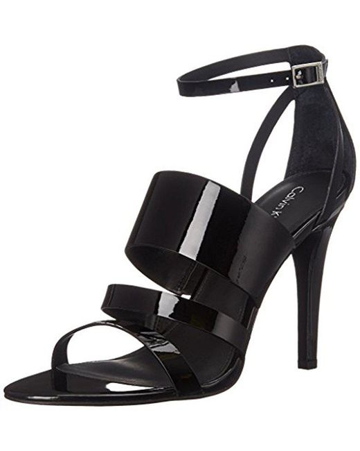 Calvin Klein - Black Mayra Dress Sandal - Lyst