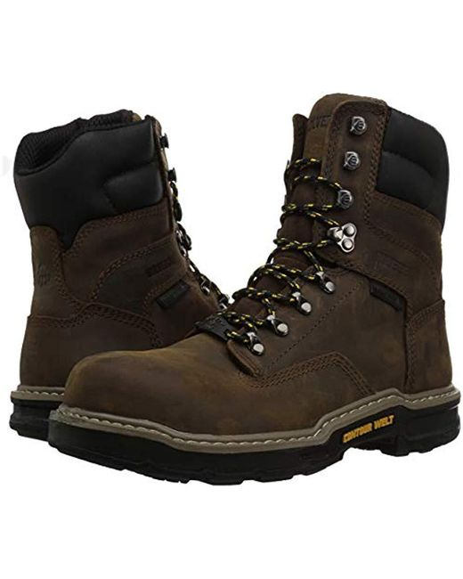 f3c52a69acc Men's Brown Bandit 8'' Composite Toe Industrial Boot