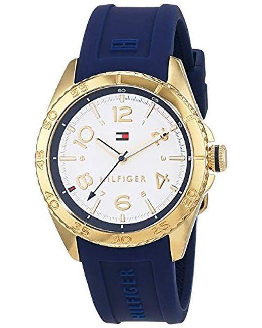 Reloj para mujer 1781637. Tommy Hilfiger de color Blue