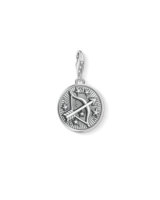 S s-Charm-Pendentif Signe Zodiacal Sagittaire Charm Club Argent Sterling 925 1648-643-21 Thomas Sabo en coloris Metallic