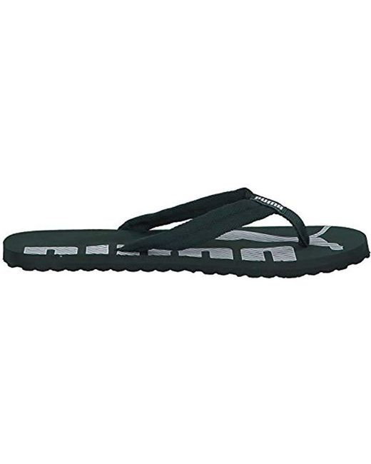 1309e0ea041c5 PUMA Adults  Epic Flip V2 Flops Black in Black for Men - Lyst