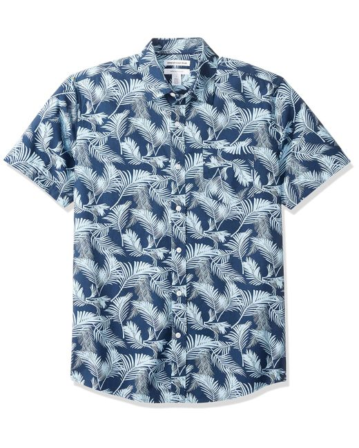 Camicia a maniche corte da uomo di Amazon Essentials in Blue da Uomo