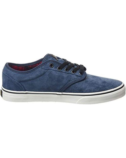 ee69eefd2f ... Vans - Blue Atwood Low-top Sneakers for Men - Lyst ...