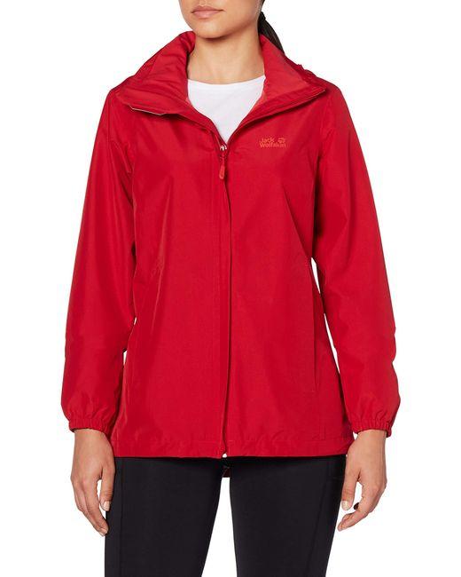 Jack Wolfskin Red Stormy Point Jacket W Jacke
