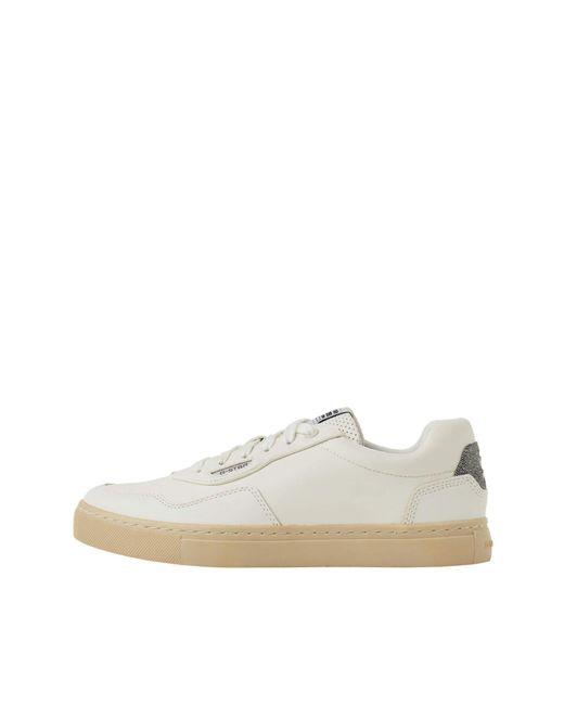 G-Star RAW White Cadet Pro Sneaker
