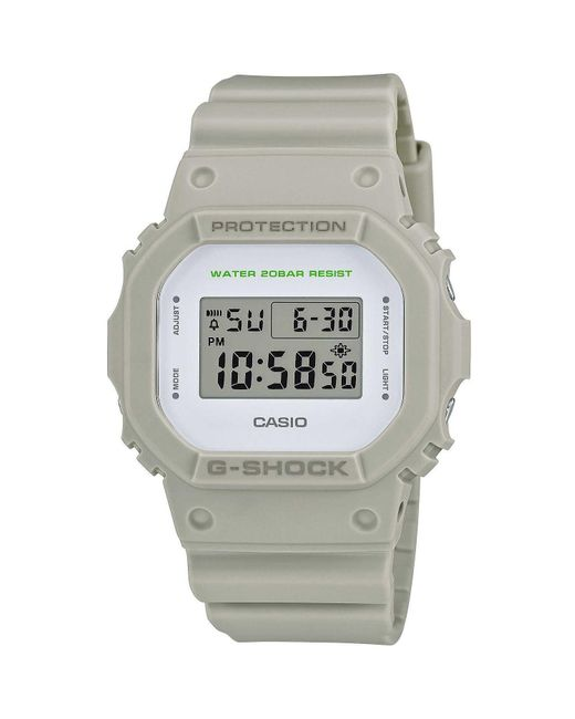 Orologio digitale unisex G-Shock trendy cod. DW-5600M-8ER di G-Shock in Gray