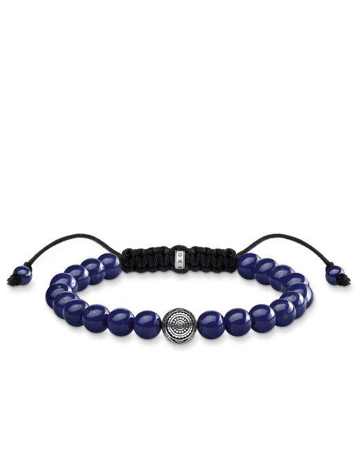 S s-Bracelet Ethnique bleu Rebel at heart Argent Sterling 925 Longueur 22 cm A1779-535-1-L22v Thomas Sabo en coloris Metallic