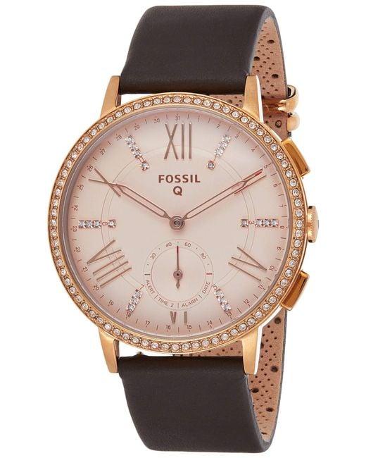 Smartwatch Donna FTW1116 di Fossil in Metallic