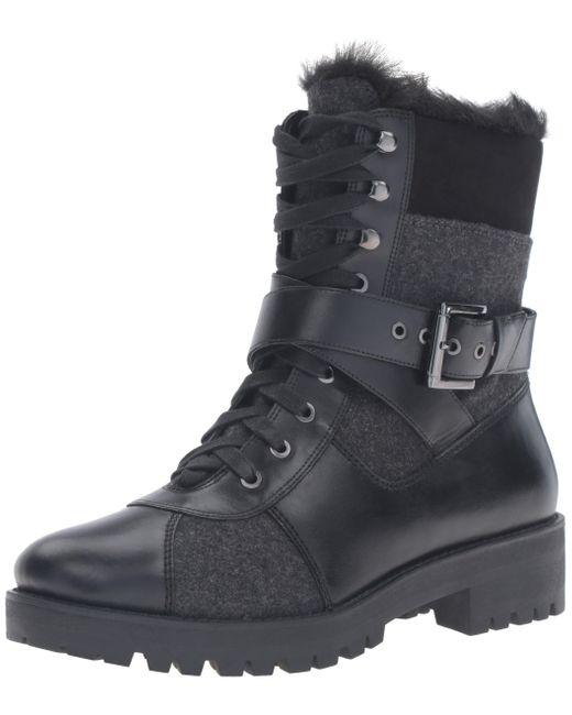 Nine West Black Orithna Leather Boot