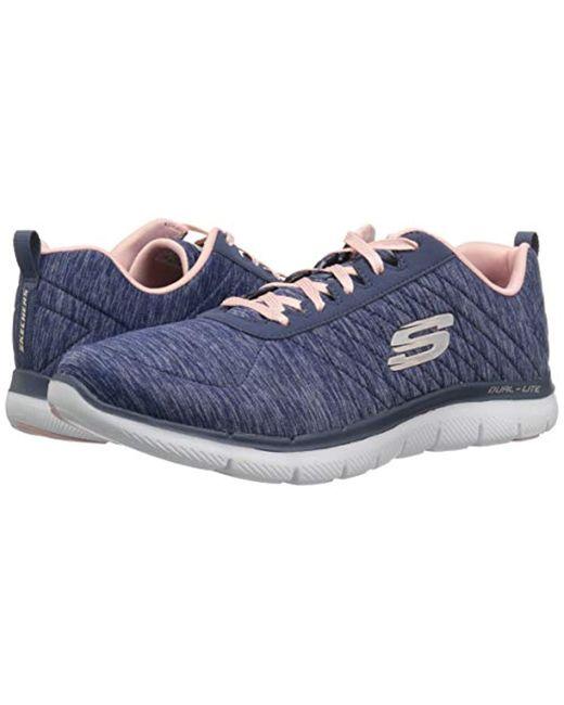 skechers navy blue sneakers