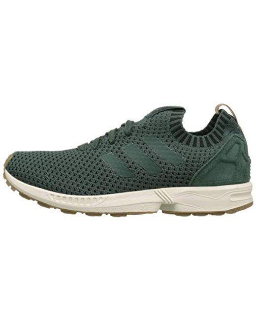 8e0005565f685 Lyst - adidas Originals Zx Flux Sneaker in Green for Men - Save 71%