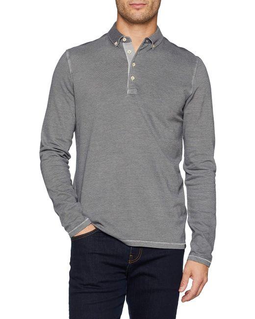 Marc O'polo 827223655076 Poloshirt in Gray für Herren