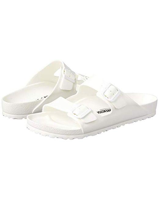 grossistuttag onlinebutik kolla upp Birkenstock Arizona Flip Flops in White Patent (White) - Save 91 ...