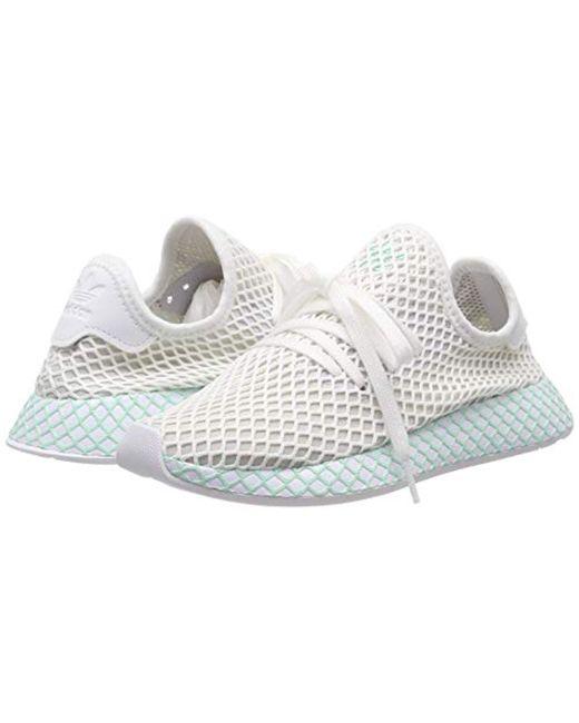 2c5d6e12e74c0 ... Adidas - White Deerupt Runner W Running Shoes - Lyst ...