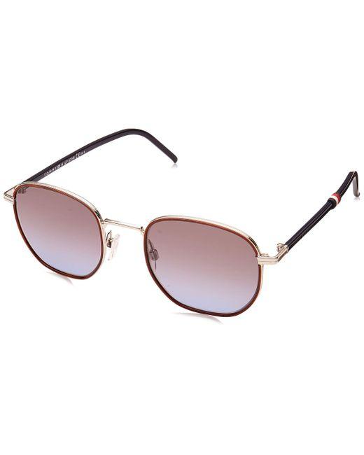 Tommy Hilfiger Purple Th 1672/s Sunglasses for men