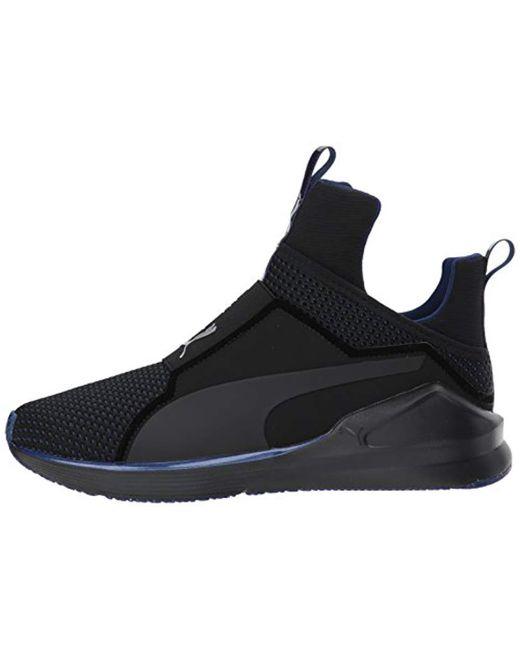 8077ddcee48608 Lyst - PUMA Fierce Velvet Rope Wn Sneaker in Black - Save 4%