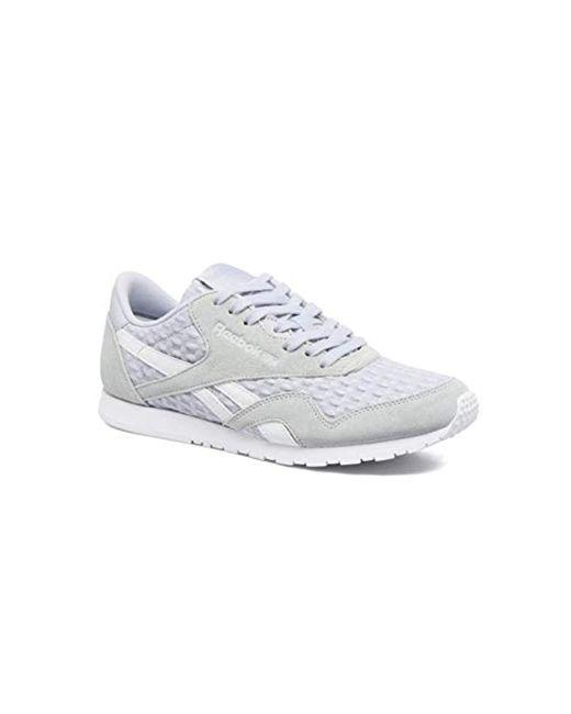 ekskluzywne oferty miło tanio rozmiar 40 Reebok Sneakers Cl Nylon Slim Architect in Gray - Lyst