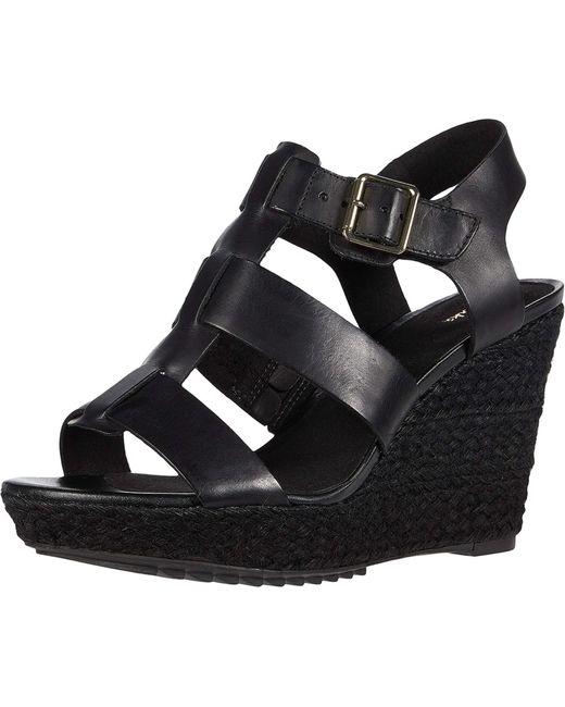 Clarks Maritsa Glad Black Leather 7