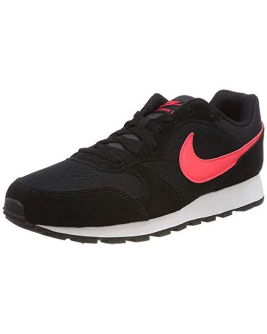 2c3afc9670721 Nike - Black Md Runner 2 Running Shoes for Men - Lyst ...