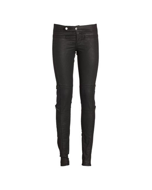 Biker Zip Pantaloni di Guess in Black