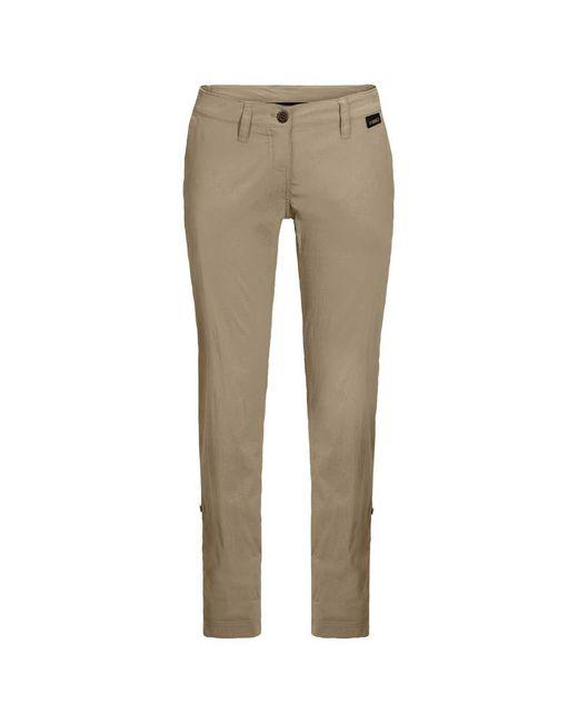 Jack Wolfskin Natural Desert ROLL-UP Pants W Freizeithose