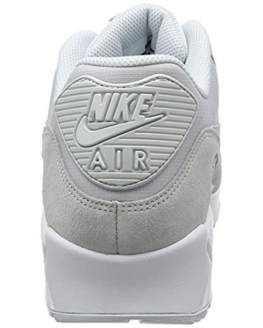 nett Nike Air Max 90 Essential S Trainers in Gray for Men