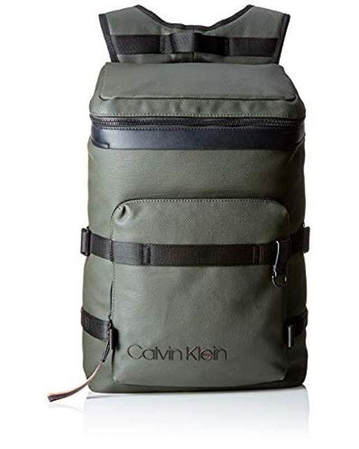 a49c89caf2a4d Calvin Klein - Gray Herren City Active Fashion Backpack Rucksack