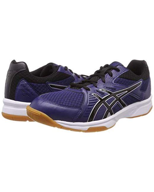 Asics Blue Black – Gel Tactic 2 Indoor Court Shoes Mens BlueBlack