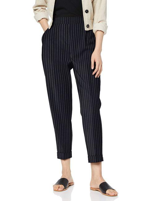 TH Essential Flex Pleated Pullon Pantaloni di Calvin Klein in Black
