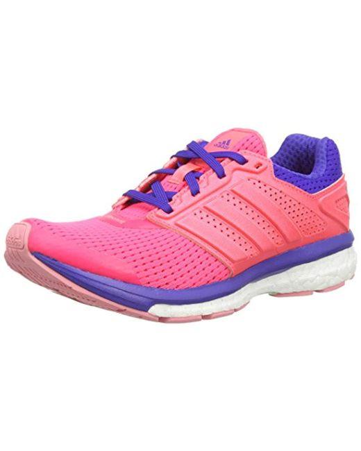official photos 8a61b 2aac3 Women's Pink Supernova Glide Boost 7 Running Shoes