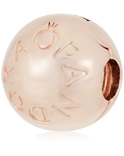 Plaqué or Charms et perles - 781015 Pandora en coloris Metallic
