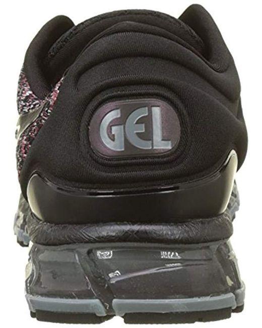 super popular 40135 adafc Asics Gel-quantum 360 Knit 2 Running Shoes in Black for Men ...