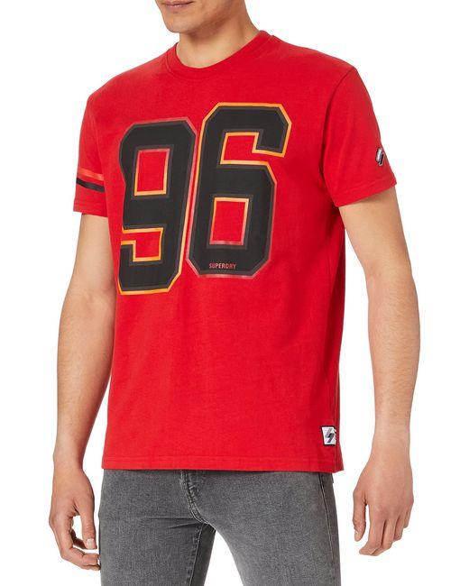 M1010960A Camiseta Superdry de hombre de color Red
