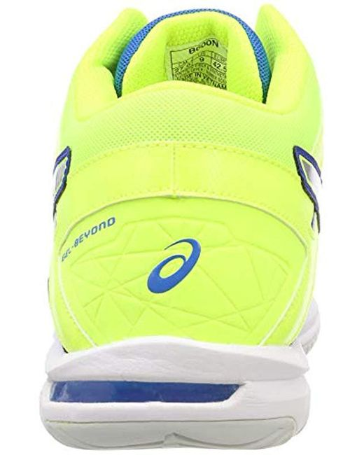 taille 40 a10b5 62a6b Men's Blue Gel-beyond 5 Mt Indoor Court Shoes (b600n)