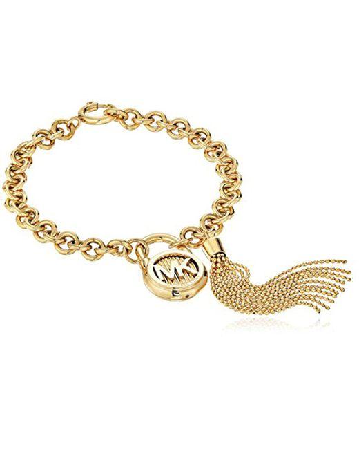 Michael Kors - Metallic Hamilton -tone Link Bracelet - Lyst