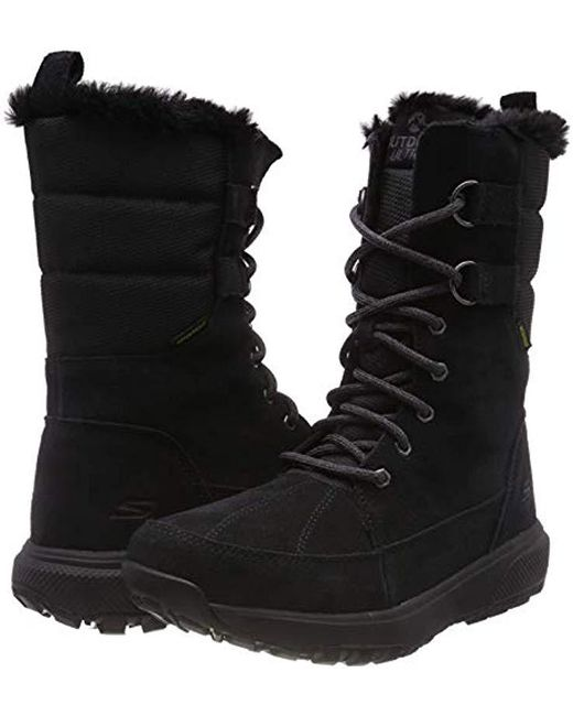 purchase cheap 78f0a 470a8 Skechers Outdoors Ultra High Boots in Black - Lyst