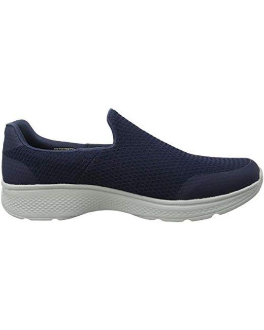 a682f393aa434 Skechers Go Walk 4 -alliance Slip On Trainers in Blue for Men - Lyst