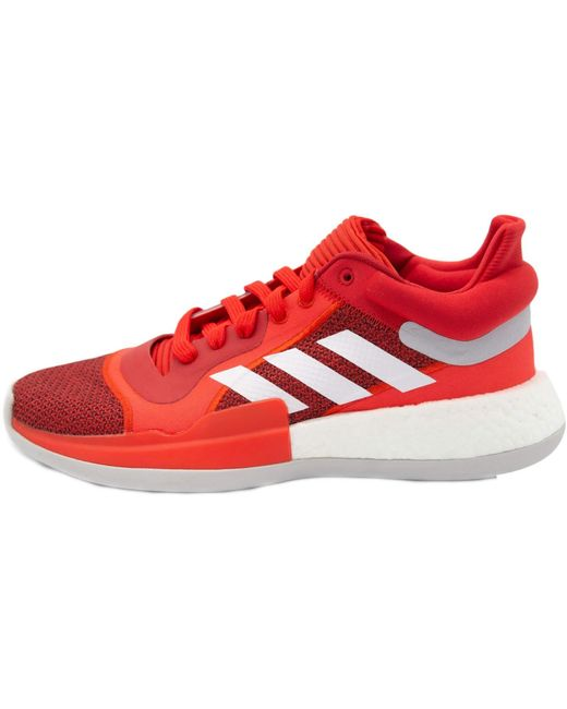 Sneakers Marquee Boost Low Adidas pour homme en coloris Red